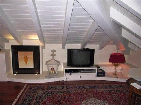 come arredare una soffitta open space in mansarda progetto