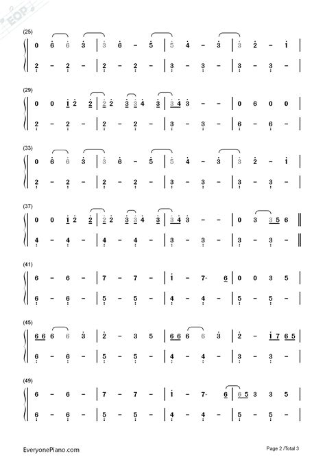 charlie puth chord how long how long charlie puth numbered musical notation preview 2