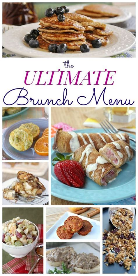 best wedding shower menu best 25 brunch menu ideas on brunch