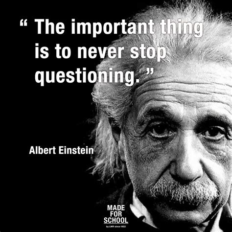 albert einstein biography for middle schoolers quot the important thing is to never stop questioning quot albert