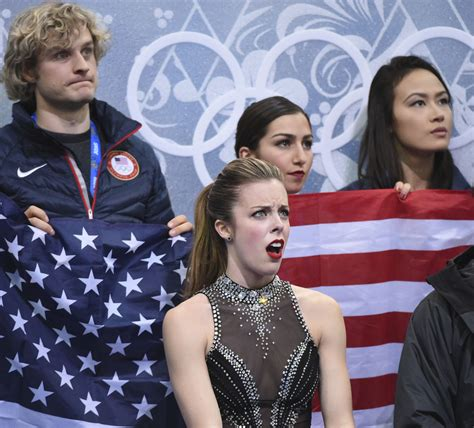 Ashley Wagner Meme - ashley wagner the olympics first genuine meme sbnation com