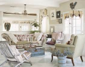 how to decorate shabby chic style to your living room one decor