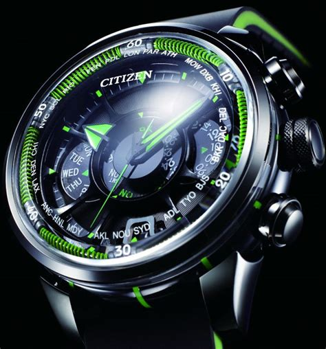 citizen eco drive satellite wave the awesomer