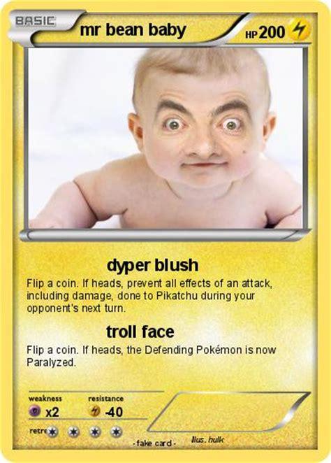 pokemon  bean baby   dyper blush  pokemon card