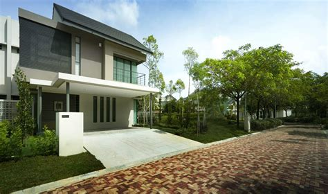 Garden House Design Ideas Malaysia by Semi Detached House Plans Malaysia