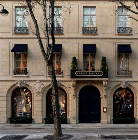 home design stores in paris ralph lauren s flagship store in st germain paris new