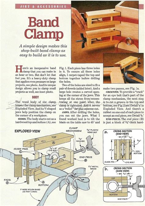 diy band clamp woodarchivist
