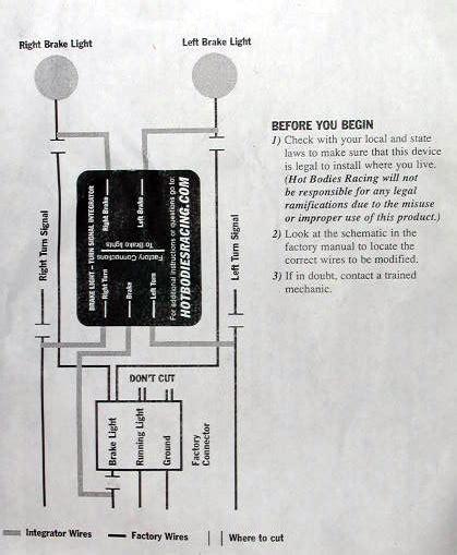 turn signal eliminator wiring diagram sportbikesnet