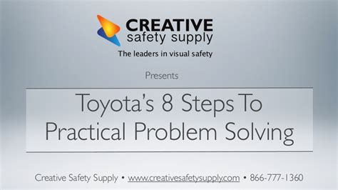 8 Steps To by Toyotas 8 Steps To Problem Solving