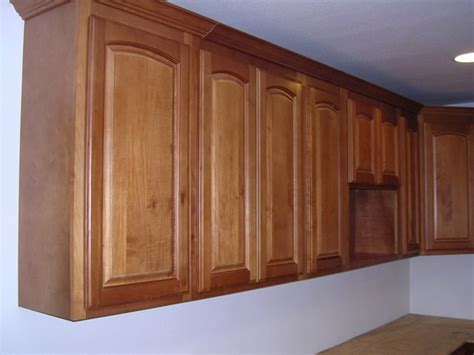 Arched Cabinet Doors Honey Maple Arched Door Kitchen Cabinets Photo Album