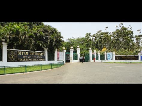 Gitam Mba Entrance by Hyderabad Business School Gitam Offers Mba