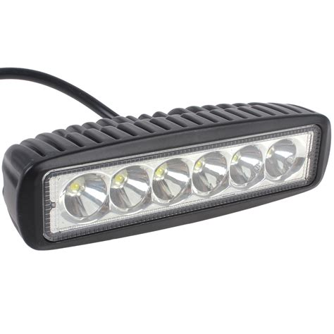 Used Led Light Bar 1550lm Mini 6 Inch 18w 12v Cree Led Work Light Bar Led Worklight L For Boating