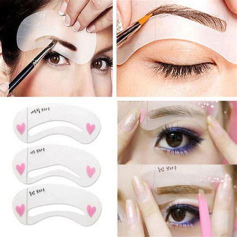 eyebrow shaping templates get cheap eyebrow shape kit aliexpress