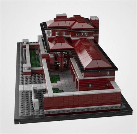 lego robie house frank lloyd wright lego robie house thecoolist the modern design lifestyle magazine