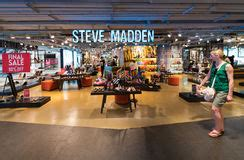 Retail Detail Steve Madden Serves Up Frocks Second City Style Fashion by Shoes Store Thailand Stock Images 133 Photos