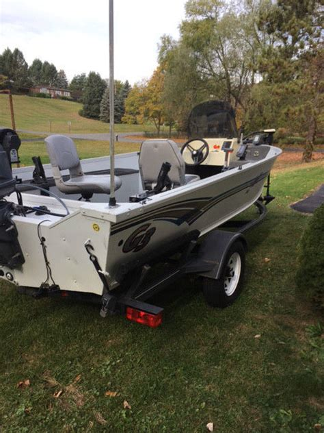 fishing boat and trailer 2001 g3 16 ft fishing boat and trailer for sale in