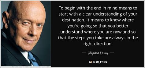 your own finding clear vision in the age of indoctrination books stephen covey quote to begin with the end in mind means