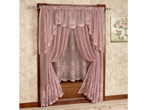 victorian swag curtains victorian window treatments victorian lace valances and