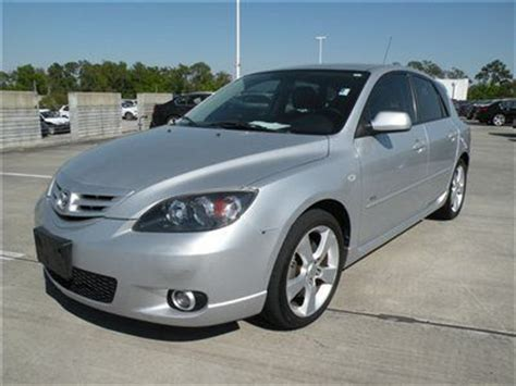 Mazda 3 Hatchback Manual Transmission by Purchase Used 2004 Mazda3 S Wagon Hatchback Silver Black