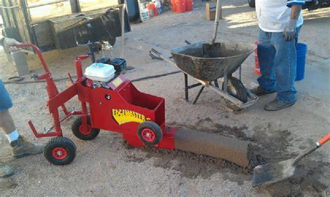 edgemaster em 800h40 gas curb depot curbing machines