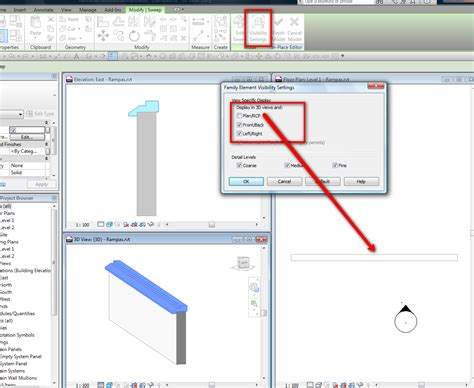 revit tutorial sweep revitcity com wall sweep invisible