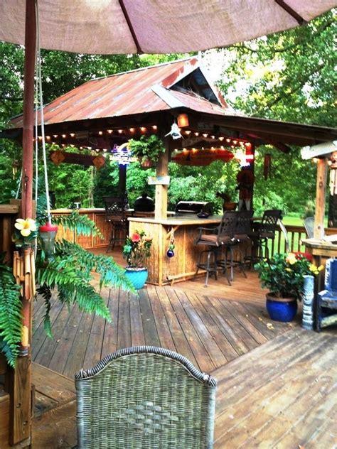 tiki bar ideas   outdoor home yard tiki bar