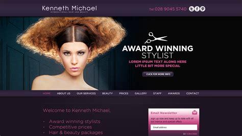 hair and makeup websites scotland website design alan cbell freelance