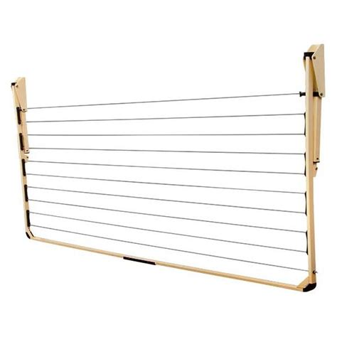 Clothesline Rack by Steel Folding Clothesline Rack In 21m Buy Wall