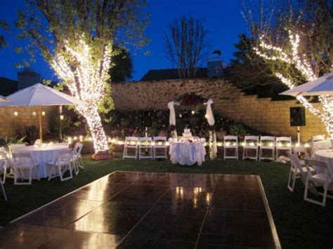 Backyard Wedding Ceremony And Reception by Backyard Wedding Ideas Decoration