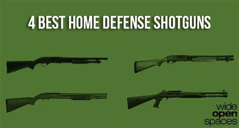 4 best home defense shotguns