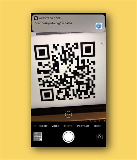 iphone qr code the ios 11 app scan qr codes on the fly