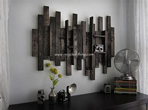 wooden wall decor diy wooden pallet wall decor recycled things