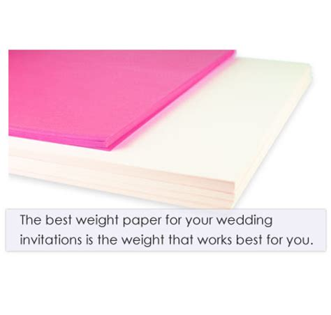weight of wedding invitations 4 steps to the best paper weight for wedding invitations