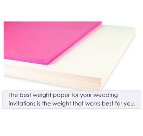 The Best Weight For Wedding Invitation Paper   LCI Paper