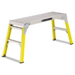 fiberglass mini working platform step stool 300 lb cap