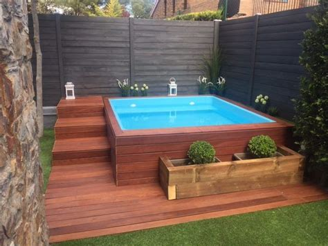 Terrasse 3x3 by 25 Best Ideas About Mini Pool On Small Pool