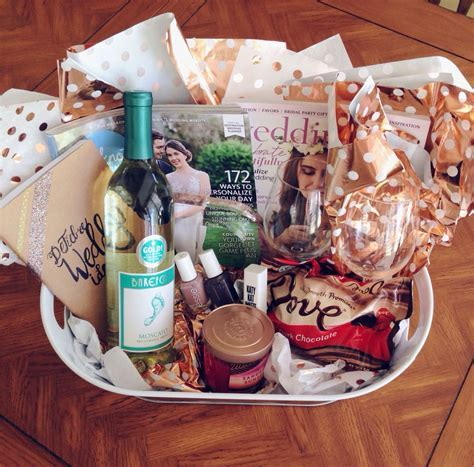 Engagement Gift Basket/Survival Kit! Everything your