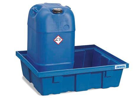 vasche plastica vasca di raccolta in plastica polysafe per fusti da 60 litri