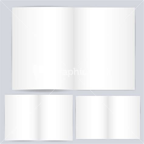 open book template for card blank open card or book template vector stock image