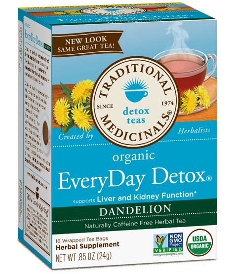 Dandelion Detox Tea Yogi With Ssri by Everyday Detox 174 Dandelion Traditional Medicinals