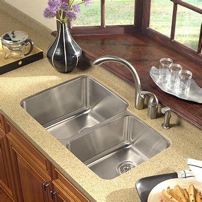 undermount stainless steel kitchen sinks houzer stainless steel undermount kitchen sinks