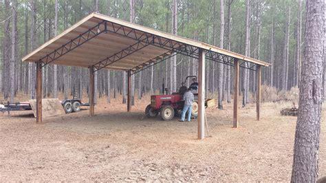 wood pole barn kits  sale simple house plans