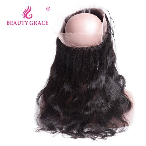 Closure Baby 2 by Grace Pre Plucked 360 Lace Frontal Closure With