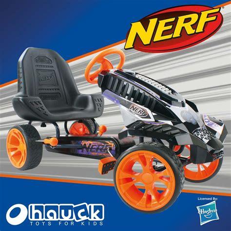 nerf battle racer hauck nerf battle racer pedal car ride on ebay