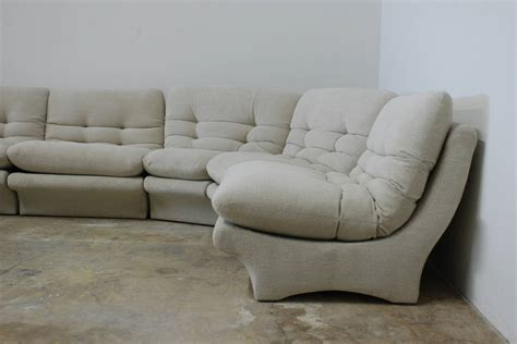 1970s couch low slung 1970s style sectional sofa at 1stdibs