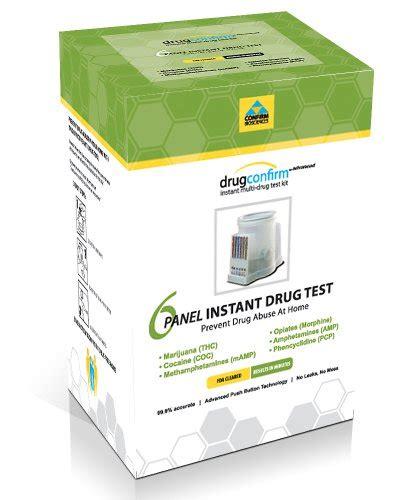 drugconfirm instant multi drug test kit 6 panel ebay drugconfirm advanced 6 panel instant drug test kit