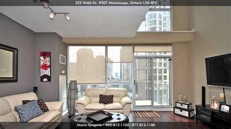 one bedroom condo mississauga 225 webb drive solstice 2 storey luxury condo loft