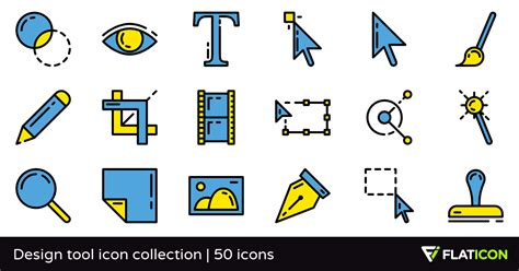 icon design tool online design tool icon collection 50 free icons svg eps psd