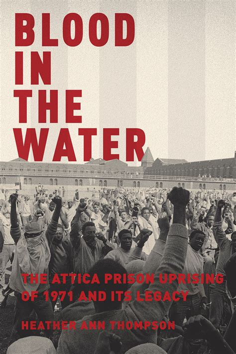 the uprising books prison uprising book blood in the water sells to tristar