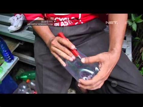 Gelas Plastik Ala Aqua how to kreasi lu dari botol bekas ala asthoprigel doovi